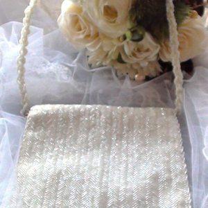 BRIDALBEADED SHOULDER BAG